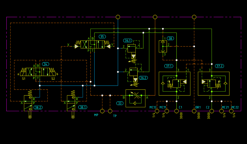Circuit Design software with self contained 2D CAD engine, HyDraw ...