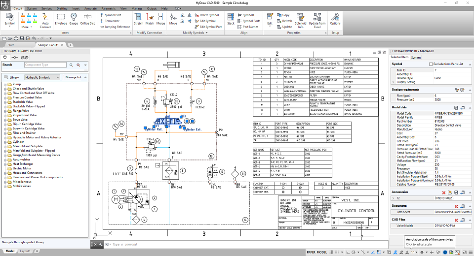 Circuit Design Software With Self Contained 2d Cad Engine Hydraw Cad From Vest Inc