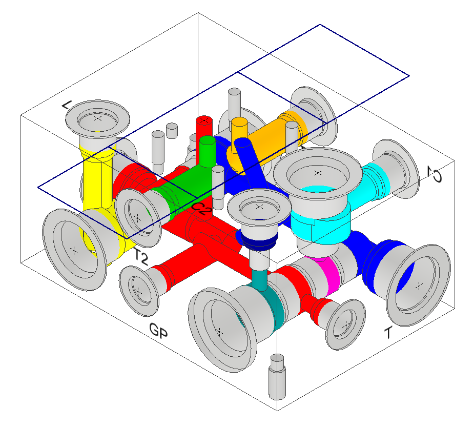 Manifold Design software for Autodesk Inventor from VEST, Inc